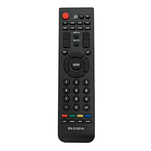 zdalamit en-31201a ersetzen Fernbedienung für Hisense TV ltdn42V77us ltdn46V86us ltdn46K20us ltd24V86us ltdn46K20us ltdn42V77us ltdn24K16us ltdn39V78us ltdn42K26us f46V89C f55V89C