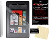 """[2 Pack] TECHGEAR® Amazon Kindle Fire 7"""" (2nd Gen/2012 Edition) ANTI GLARE / MATTE LCD Screen Protector Guards With Cleaning Cloth + Application Card (NOT FOR ANY KINDLE FIRE HD OR HDX TABLETS!"""