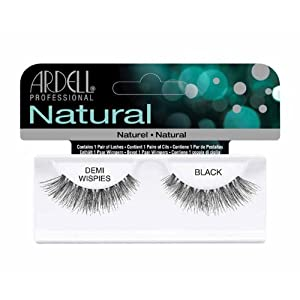 Ardell Invisiband Lashes, Demi Wispies Black, 1 Pair (Pack of 3) by Ardell