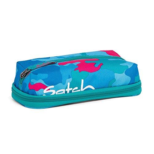 Preisvergleich Produktbild Satch Schlampermäppchen PenBox Caribic Camou 9D9 blau pink camouflage