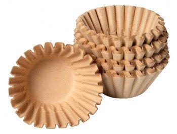Bartscher Korbfilterpapier Kaffeemaschine Aurora/Contessa 250 Stück | Größe: 90/250 | Nicht für...