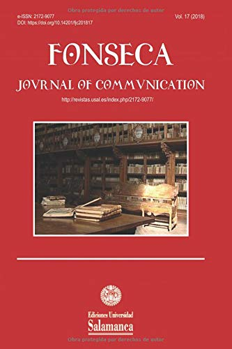 Fonseca, Journal of Communication: Núm. 17 (2018) por Begoña Gutiérrez San Miguel (Dir.)