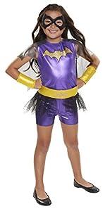 DC Super Hero Niñas 57356-eu Batgirl Everyday Disfraces Disfraz (Talla única)