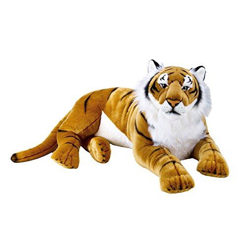 Tigre Gigante de Peluche de 1 metro de largo