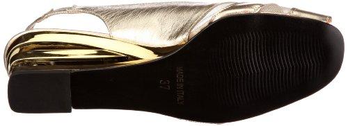 Vista 31-210P-p Damen Sandalen/Fashion-Sandalen Gold (platin)
