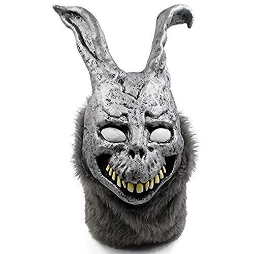 Cosplay The Angry Rabbit Mask Böses Silber Kaninchen Halloween Hochwertige Latexmasken Bar Party Cosplay Halloween Geburtstagsfeier