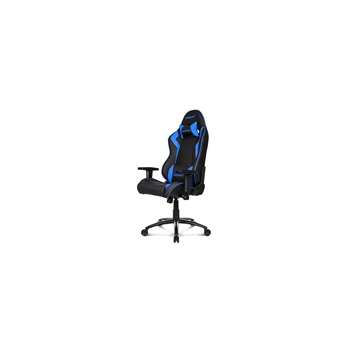 41WNiNApQVL. SS1200  - AKRACING silla mesa para Gaming Faux Piel Blanco