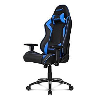 AKRacing Octane – AK-OCTANE-BL – Silla Gaming, Color Negro/Azul