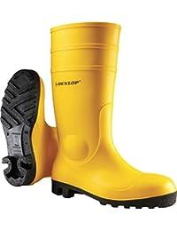 Dunlop 142pp Protom. S5 Zwart 45, Bottes Mixte adulte