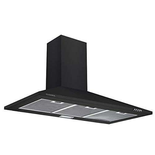 CIARRA Campanas Extractoras Decorativa Cocina Color Negro