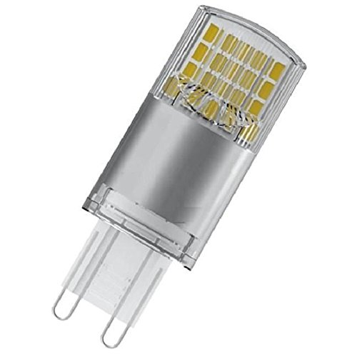 Brennende Lampe (Osram LED Star Special Pin, mit G9- Sockel, Nicht Dimmbar, Ersetzt 40 Watt, Klar, Warmweiß, 1er- Pack)