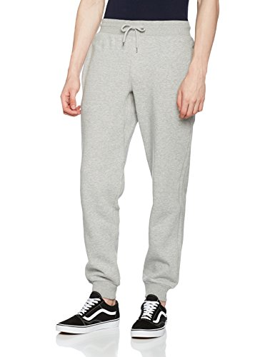 Urban Classics TB1582 Basic Sweatpants, Herren und Jungen Jogginghose, lässige Sporthose im relaxed Cut, Grau (grey 111), 50 (Herstellergröße: XL) -