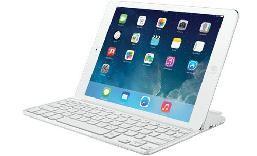 Logitech Ultrathin Keyboard Cover for iPad Air - teclados para móviles (Plata, Apple, Apple iPad Air, QWERTY, Español, Batería)