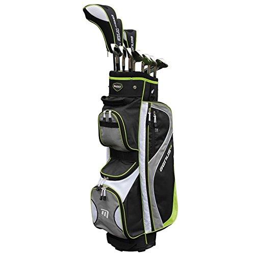 Masters Genus Damen Golf-Set mit Tasche für Rechtshänder, Graphit