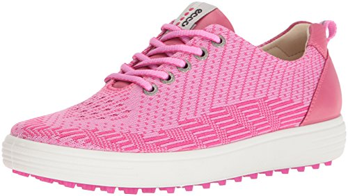 Ecco Damen Womens Golf Casual Hybrid Golfschuhe, Pink (50075PINK-Beetroot/Fandango), 42 EU (Womens Schuh Athletic Casual)