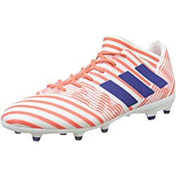 adidas Nemeziz 17.3 FG W, Botas de fútbol para Mujer, Blanco (Ftwbla/Tinmis/Corsen), 41 1/3 EU