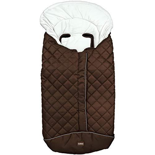 Textures Home - Sac universel Chaise intérieur Coralina couleur chocolat carreaux imperméable 9648 + Cadeau Stylo à bille exclusif
