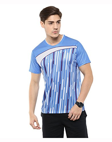 Yepme-T-shirt-col-rond-Barry-Bleu