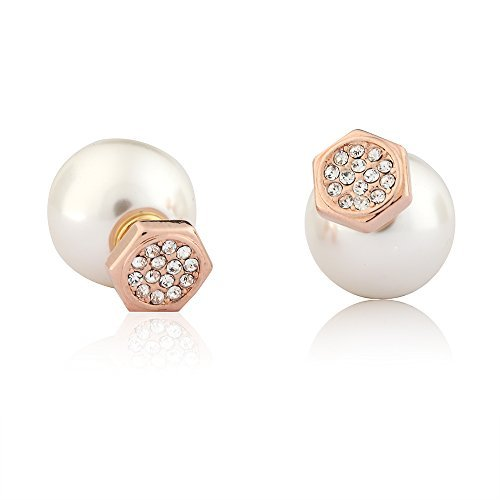 everyday-june-womens-front-and-back-earring-jackets-tribal-stud-white-swarovski-pearl-silver-gold-cz