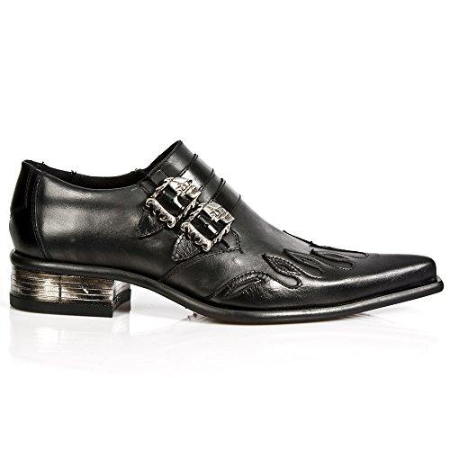 New Rock M 2358 S1, scarpe da città da uomo, Nero (Noir (Nomada Negro/Itali Negro/Cuerol)), 44