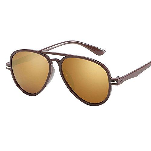 Makefortune Pilotenbrille Verspiegelt UNISEX für Damen und Herren Sonnenbrille Brille mit Federscharnier UV400 CAT 6 CE Nerd Sonnenbrille im Klassiker Stil Retro Vintage Unisex Brille