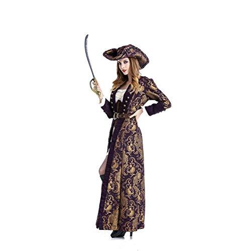 Halloween Cosplay Kostüm Erwachsene Cosplay Spiel Uniform Weibliche Karibik Piraten Kostüm Party Rolle Spielen Geeignet Für Karneval Thema (Weibliche Joker Kostüm Cosplay)