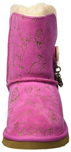 UGG Unisex-Kinder Fauna Lauflernschuhe Pink (Princess Pink)
