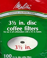 Melitta 628354 Disc Coffee Filters