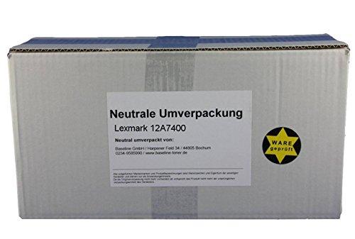 Preisvergleich Produktbild Lexmark 12A7400 Toner Black -Originalware neutral umverpackt