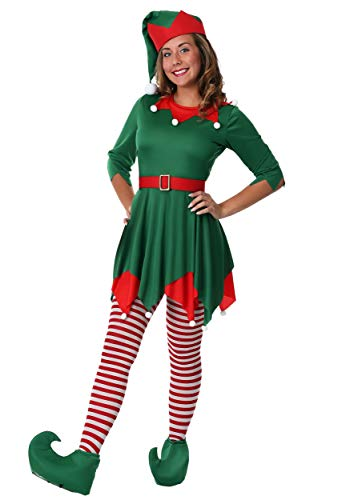 Women's Plus Size Santa's Helper Fancy Dress Costume 4X