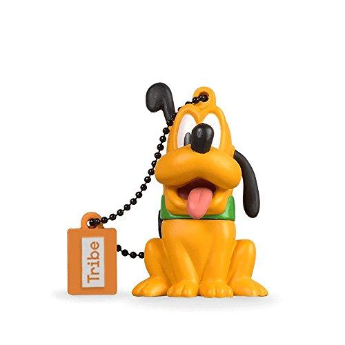 Chiavetta USB 8 GB Pluto - Memoria Flash Drive 2.0 Originale Disney, Tribe FD019404
