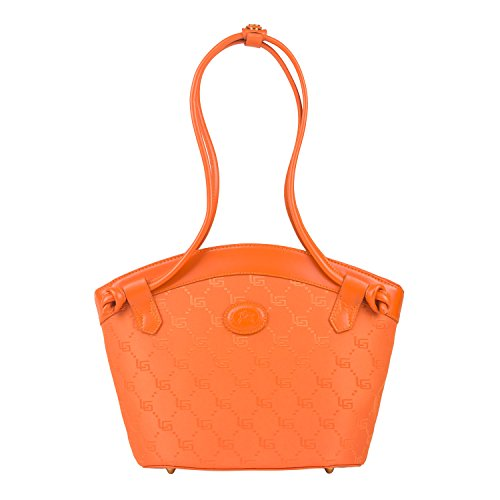 Luigi  81550,  Damen Schultertasche Orange
