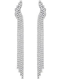 c73acd26d Swarovski Orecchini a pendolo e goccia Donna acciaio_inossidabile - 5409450