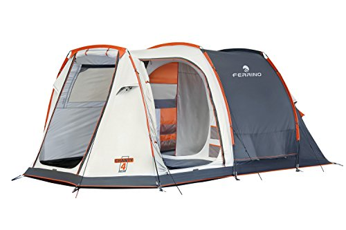 Ferrino Chanty 4 Deluxe Family Tenda, Blu, 4 Posti