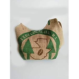 Kaffeesack-Tasche coffee to go aus recycelten Kaffeesack Kaffeebohnensack-Leinen City Shopper/Strandtasche