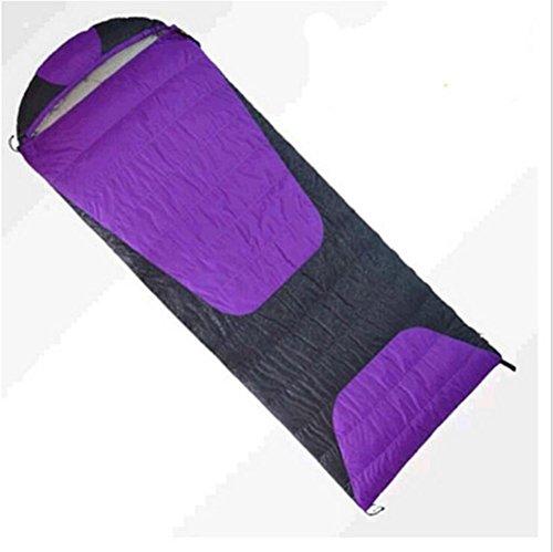 RJ YXX Schlafsack Vier Jahreszeiten Tragbar Multifunktion Schlafsack Im Freien Camping Winddicht Wasserdicht Anti-kalt, Kaschmir Inhalt von 1000 Gramm -