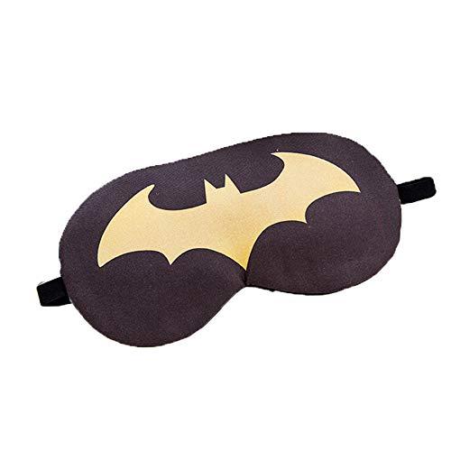 ke, Schattierung Tiefe Ruhe-Augenmaske, leicht, super weich und bequem, geeignet für Männer und Frauen, Reisen, Nickerchen, 3tlg,Bats ()