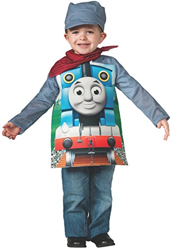 Rubies thomas and friends, deluxe thomas the tank engine and engineer costume, toddler - toddler one color by rubie's