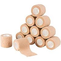 Selbstklebende Bandage – 12 Stück Camo selbsthaftende Bandage Medizinische Tierarzt-Tape für Erste Hilfe, Sport... preisvergleich bei billige-tabletten.eu