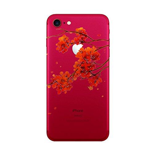 "Vanki® Coque iPhone 7, Motif Totem loup TPU Souple Etui de Protection Silicone Case Soft Gel Cover Anti Rayure Anti Choc pour Iphone7 4.7"" 7"