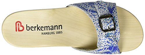 Berkemann Silenz, Mules Femme Blau (blau Batik)