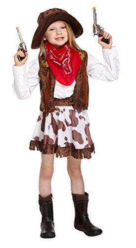 West Kostüm Kleinkind Cowboy Wild - Cowboy Cowgirl Mädchen Buchwoche Gun Kostüm Kinder und Kleinkinder
