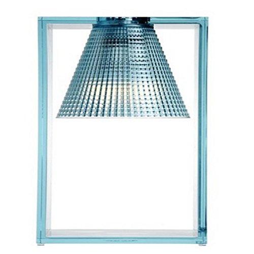 Kartell Light-Air Lampada da Tavolo, Azzurro