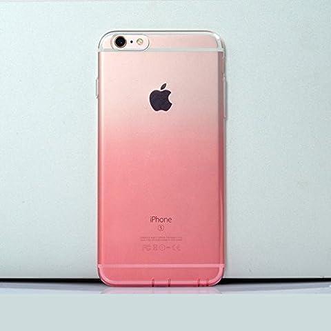 dfifan® iPhone 6 Coque Colorful Transparent Housse étui coque de