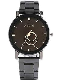 9eacbb5940ee07 Kevin orologio da uomo, nuovo design orologi per uomo e donna, in acciaio  INOX