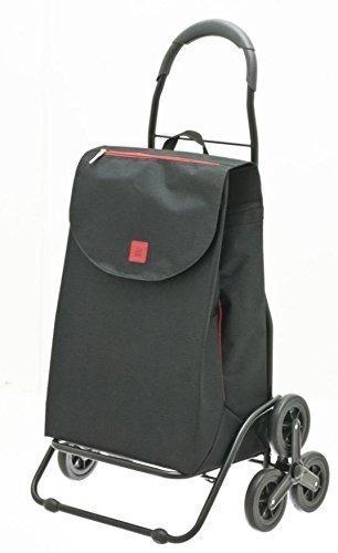 Einkaufstrolley - TREPPENPROFI - Einkaufswagen - Treppensteiger, Alu-Gestell, Volumen: 50 Liter, Tragkraft: 40 kg,