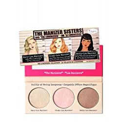 TheBalm The Manizer Sisters AKA The Luminizers Trio Makeup Palette - 9gm