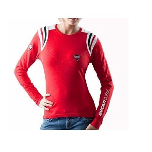 Ducati Corse D.C.08 Shirt Longsleeve Damen Langarm Gr. XL T-Shirt (08 Langarm-t-shirt)