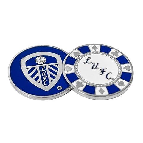 Leeds United Casino Golf Ball Marker - Silver