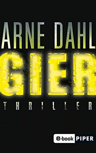 Buchseite und Rezensionen zu 'Gier: Thriller (Opcop-Gruppe 1)' von Arne Dahl